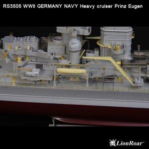 Germany Navy Heavy Cruiser Prinz Eugen  (Vista 5)