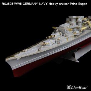 Germany Navy Heavy Cruiser Prinz Eugen  (Vista 6)