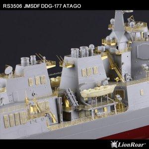JMSDF DDG-177 Atago Super Detail Set   (Vista 6)