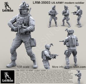 US ARMY modern soldier  (Vista 2)