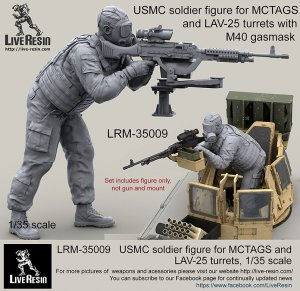 USMC soldier for MCTAGS and LAV-25  (Vista 2)