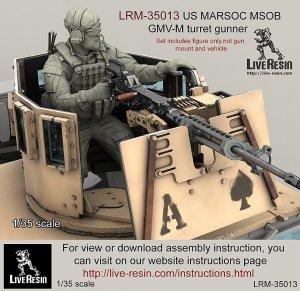 US MARSOC Marine Special Operations Bata - Ref.: LIVE-LRM35013