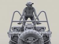 Chica en cuatrimoto ATV (Vista 20)