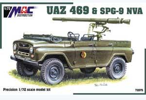 UAZ 469 with SPG-9 NVA  (Vista 1)
