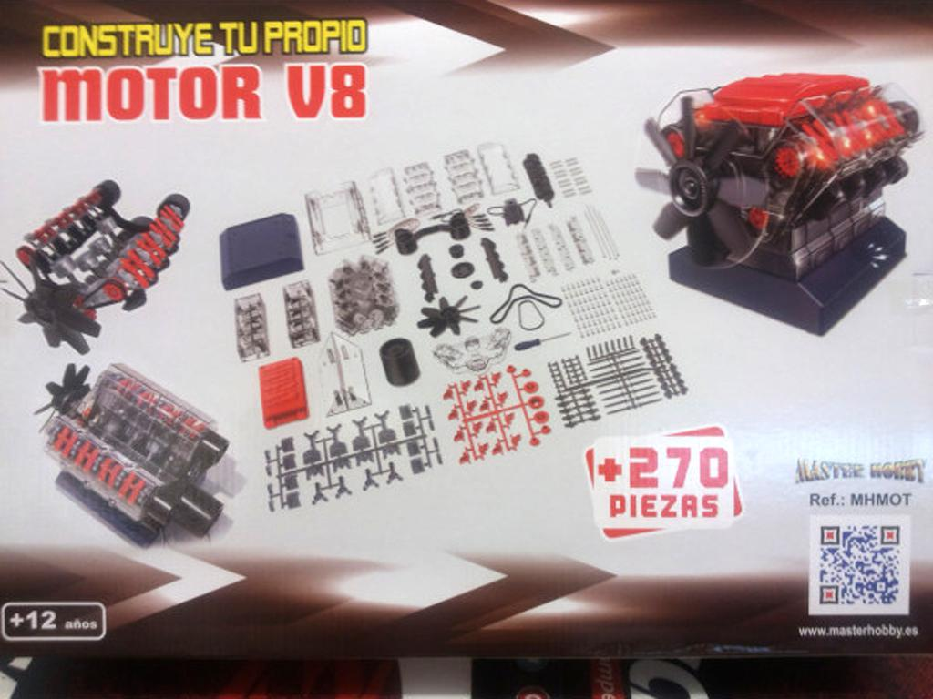 Motor V8 (Vista 2)