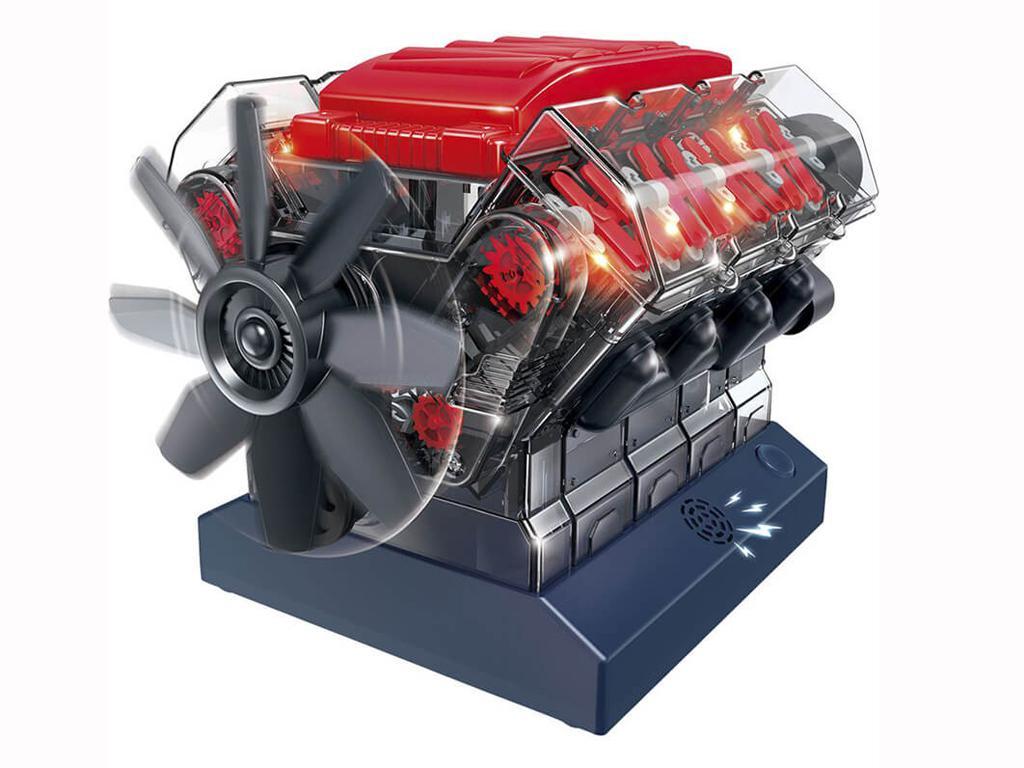 Motor V8 (Vista 3)