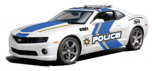 Chevrolet Camaro RS 2010 Police  (Vista 1)