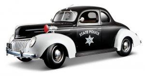 Ford Deluxe Police 1939  (Vista 1)