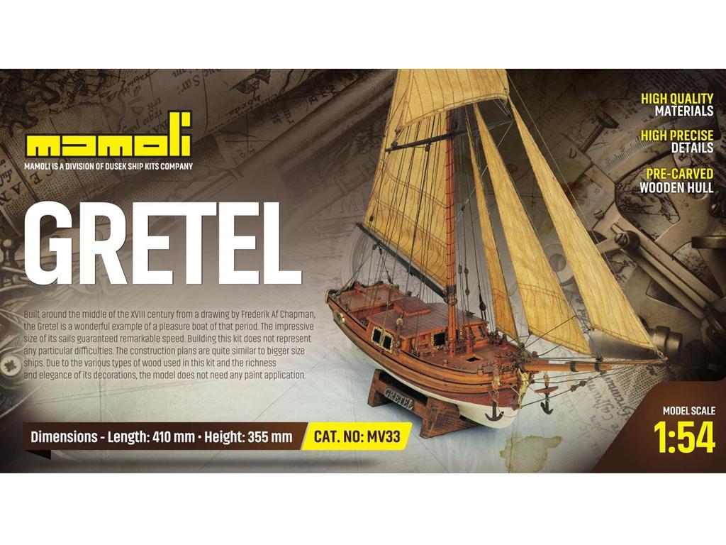 Gretel Yate de XVIII  (Vista 1)