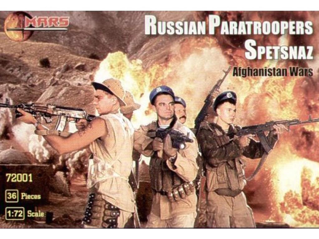 Paracaidistas rusos Spetsnaz, Afganistán  (Vista 1)