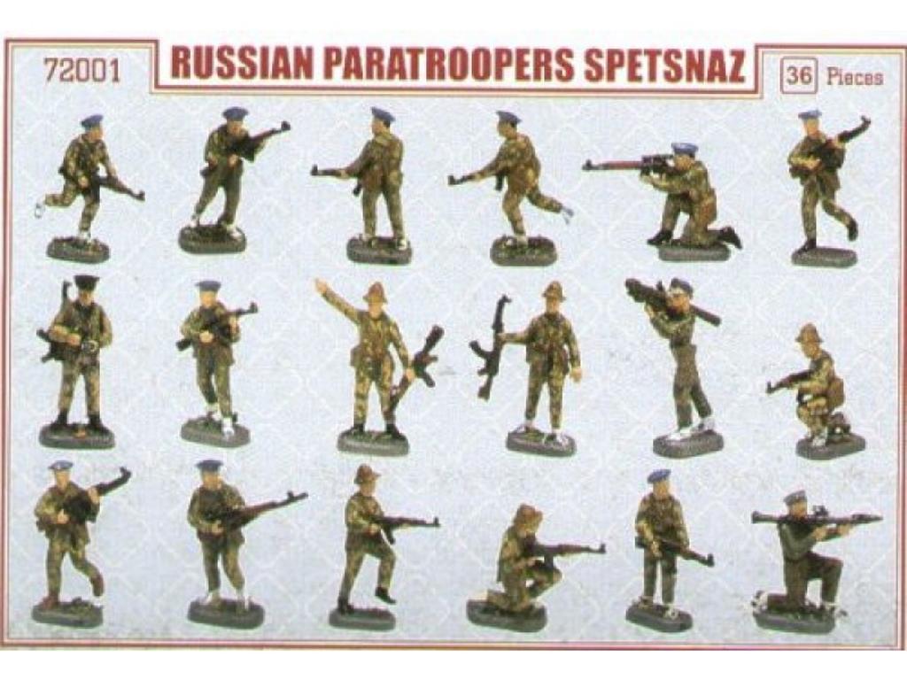 Paracaidistas rusos Spetsnaz, Afganistán  (Vista 2)