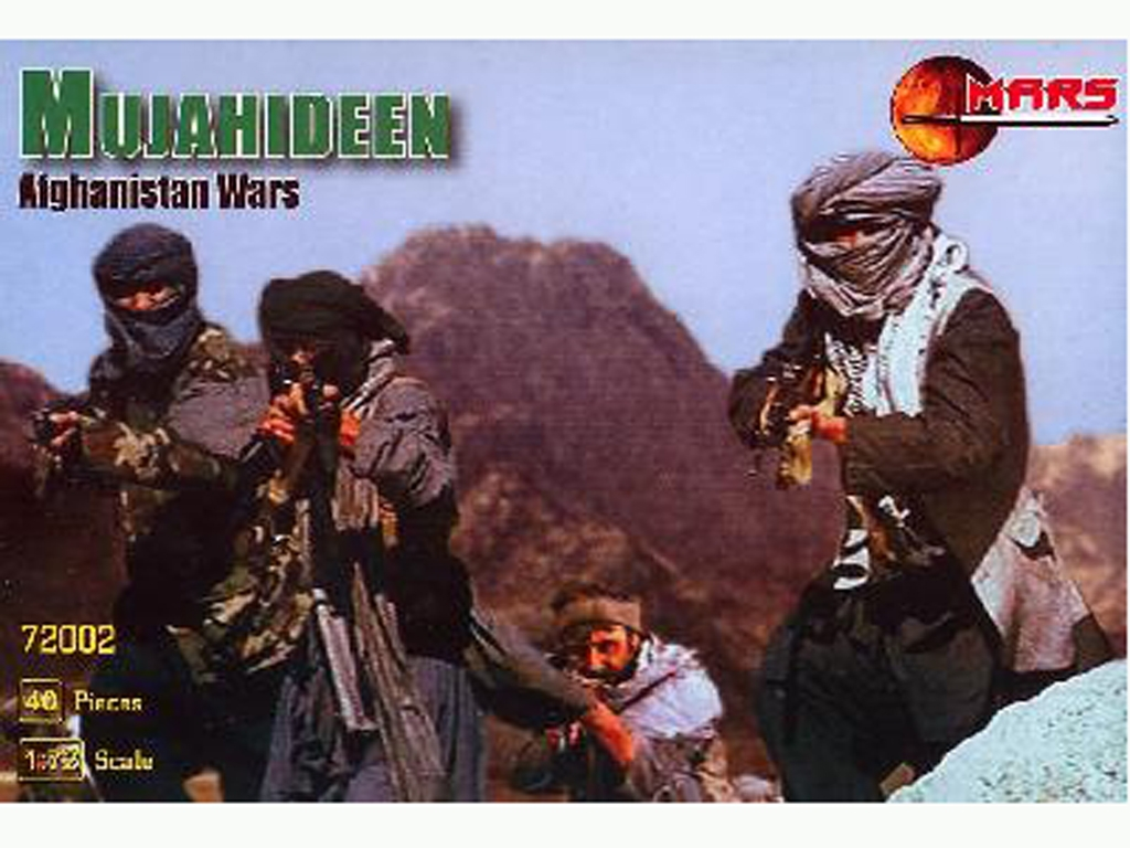 Combatientes Mujahideen Afghanistan 1979  (Vista 1)