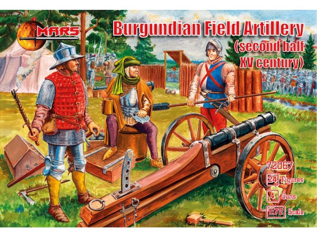 Artillería de campo de Borgoña  (Vista 1)