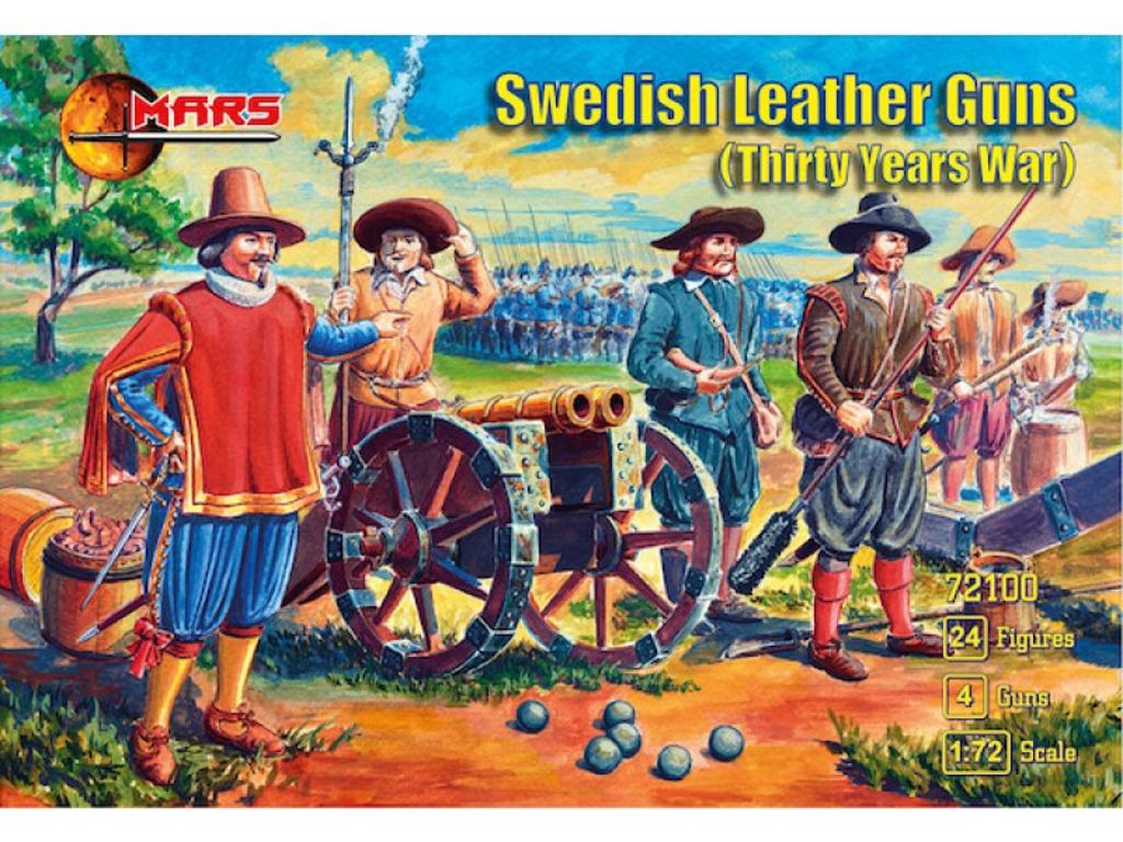 Cañones de cuero suecos  (Vista 1)