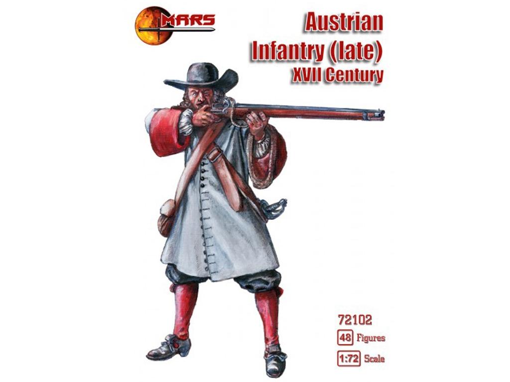 Infantería Austriaca (finales del siglo   (Vista 1)