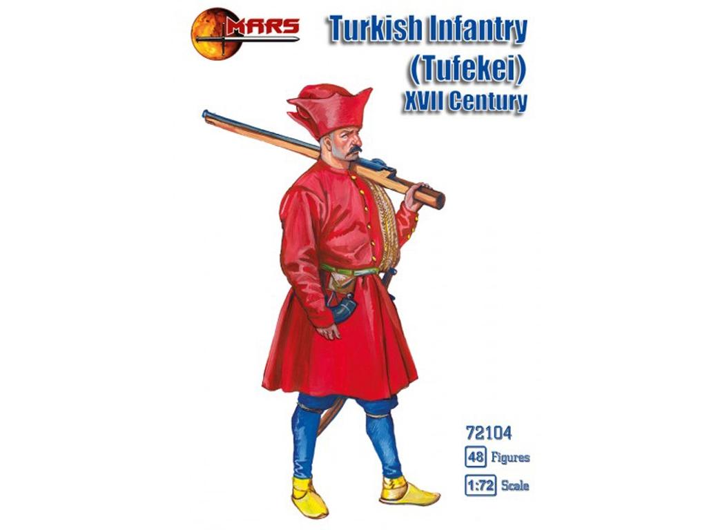 Infantería Turca (Tufekei) Siglo XII  (Vista 1)