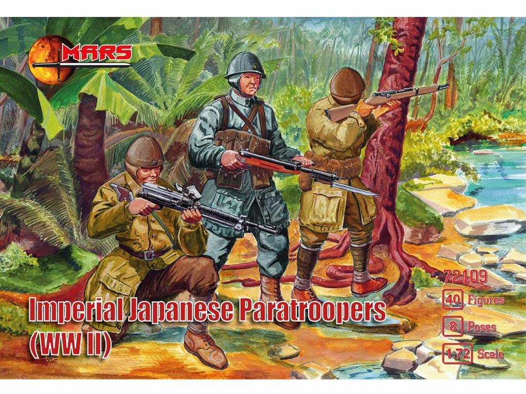 Paracaidistas Imperiales Japoneses (Vista 1)