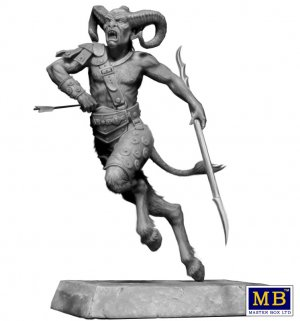 Ancient Greek Myths Series. Satyr  (Vista 2)