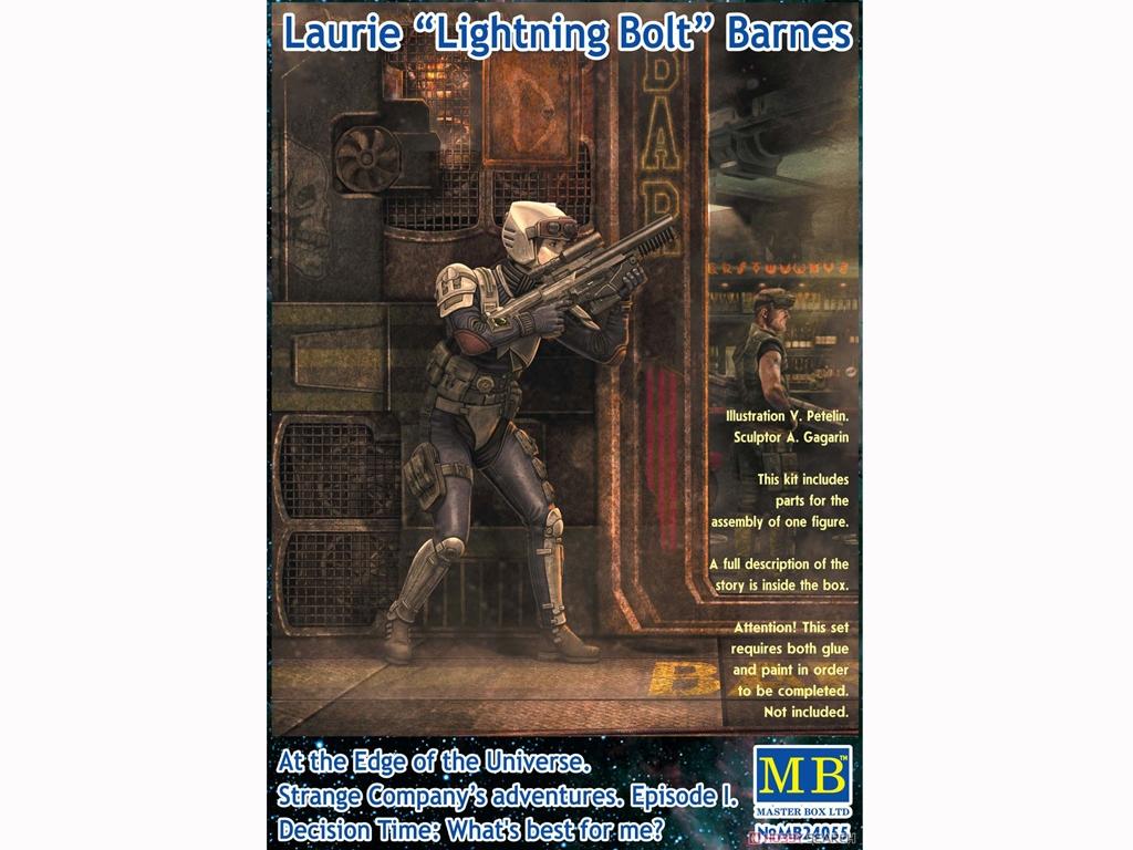 Laurie `Lightning Bolt` Barnes  (Vista 1)