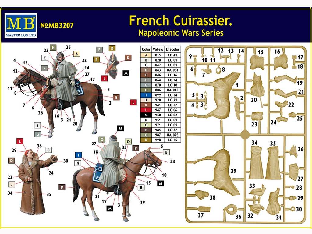 French Cuirassier  (Vista 11)