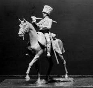 Húsares Francés, Guerras Napoleónicas  (Vista 2)