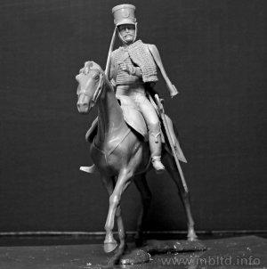 Húsares Francés, Guerras Napoleónicas  (Vista 3)