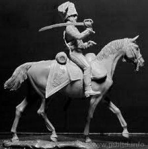 Húsares Francés, Guerras Napoleónicas  (Vista 4)