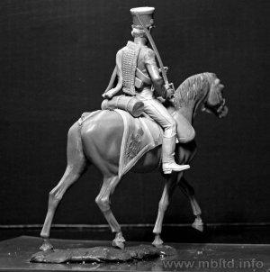 Húsares Francés, Guerras Napoleónicas  (Vista 6)