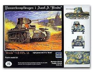 """Light tank Pz-1A mod.""""Breda"""" - Ref.: MBOX-3503"""