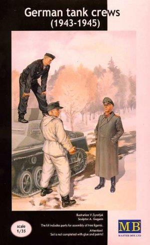 Tanquistas Alemanes 1943-1945 - Ref.: MBOX-3508