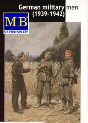 Militares Alemanes 1939-1942  (Vista 1)