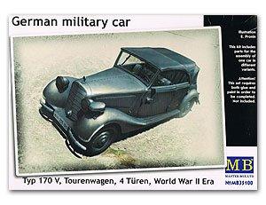 German military car, Type 170 V  (Vista 1)