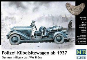 German Staff Car, Type 170 V, Kübelwagen - Ref.: MBOX-35101