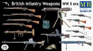 British Infantry Weapons, WW II era  (Vista 1)