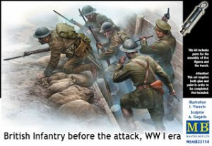 Infanteria Britanica WWI - Ref.: MBOX-35114