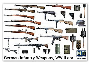 German Infantry Weapons WW II era  (Vista 1)