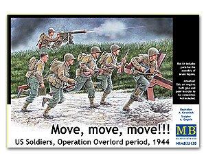 Operation Overlord period 1944  (Vista 1)