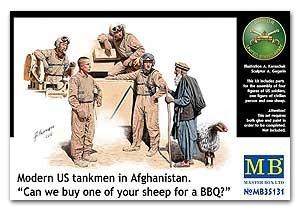 Tanquistas modernos US en Afghanistan  (Vista 1)