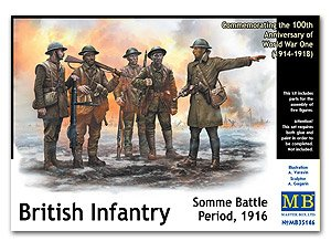 Infanteria Britanica, batalla de Somme 1 - Ref.: MBOX-35146