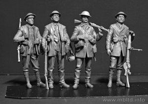 Infanteria Britanica, batalla de Somme 1  (Vista 2)
