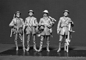 Infanteria Britanica, batalla de Somme 1  (Vista 3)
