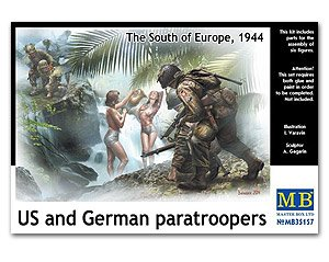 US and German paratroopers  (Vista 1)