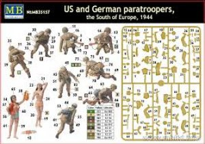 US and German paratroopers  (Vista 6)