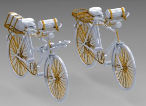 Bicicleta Militar Alemana  (Vista 2)