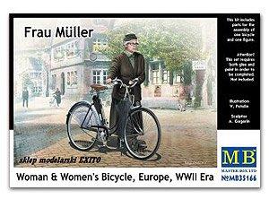 Frau Muller. Woman & Women's Bicycle  (Vista 1)