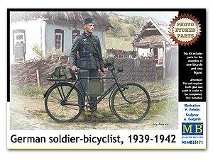 Ciclista Aleman Armado  (Vista 1)