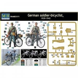 Ciclista Aleman Armado  (Vista 2)