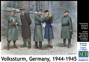 Volkssturm, Germany, 1944-194  (Vista 1)