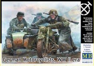 Motoristas Alemanes 1942-43  (Vista 1)
