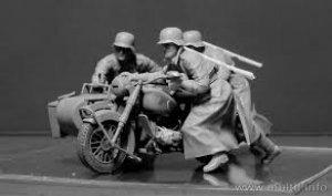 Motoristas Alemanes 1942-43  (Vista 2)